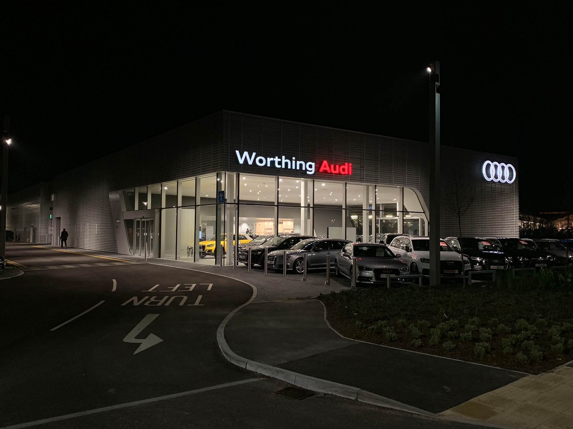 Audi worthing caffyns